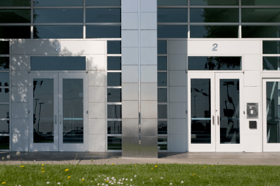 business security door