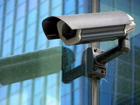 business security system camera