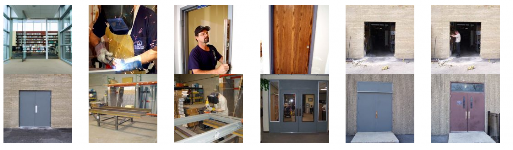commercial door & frame company in elk grove village IL commercial door installation