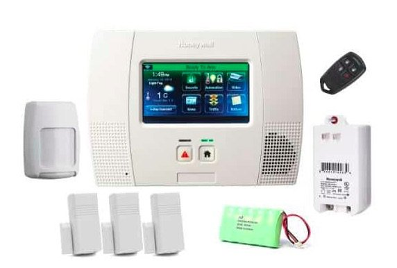 Chicagoland Home Security Systems - Honeywell Lynx Touch 5210